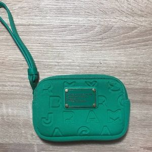 Marc by Marc Jacobs Neoprene Wristlet with logo